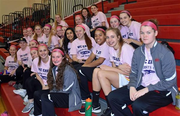 East High School holds Pink Game fundraiser to raise money for Unite For her