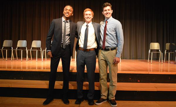 2019 Boys Speaking Contest Winners