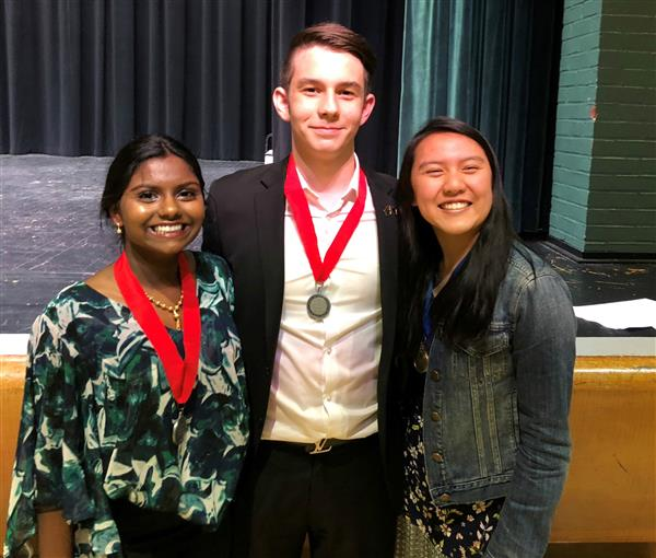 East High School National History Day State Competition Winners