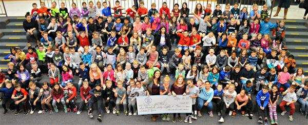 Starkweather Elementary School dontes to Unite for Her