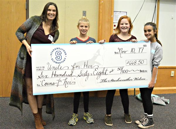 Starkweather Elementary School Donates to Unite for Her