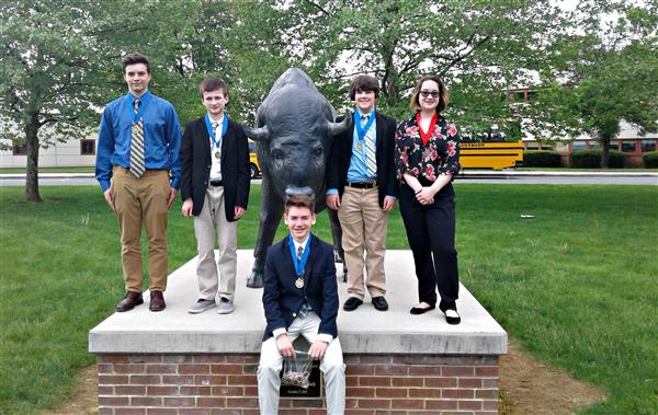 Fugett Middle School students won 1st and 2nd place in the National History Day state competition.