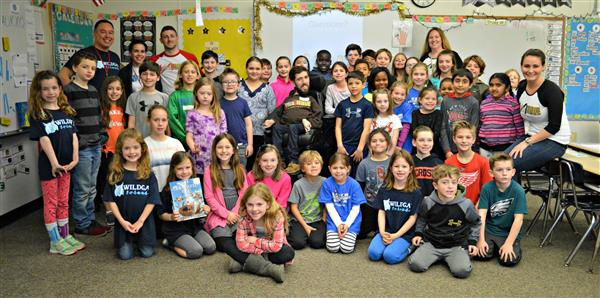 Author Jimmy Curran visits Westtown-Thornbury