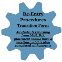 Re-Entry Procedures Transition Form