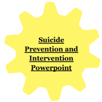 Suicide Prevention and Intervention Powerpoint