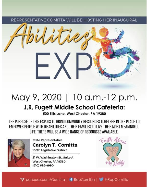 Abilities Expo flyer